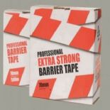 Red/ White Non Adhesive Barrier Tape 70mm x 500m